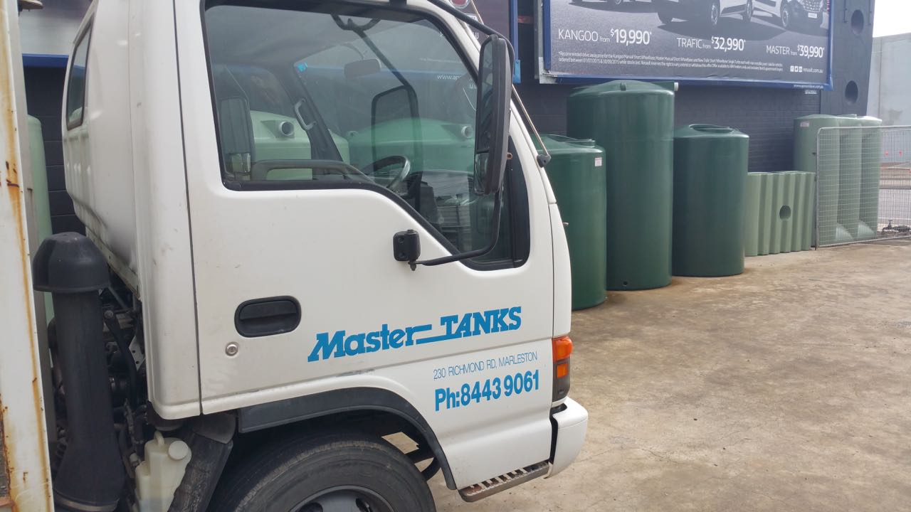 Mastertanks Delivery Truck Master Tanks