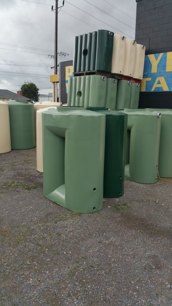 Multiple Rainwater Tanks Available Immediately At Richmond