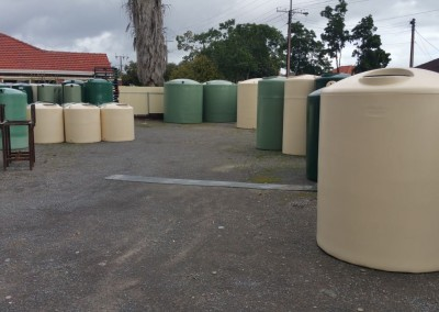poly rainwater tanks manufactured at richmond by Master Tankster