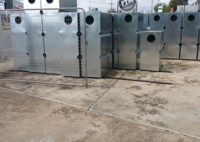 slim line steel tanks in stock