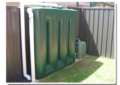 We supplied this slimline rainwater tank, made in South Australia, for a client in Prospect, a suburb of Adelaide