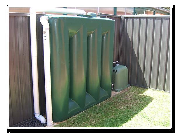 Slimline Rainwater Tank Adelaide Master Tanks